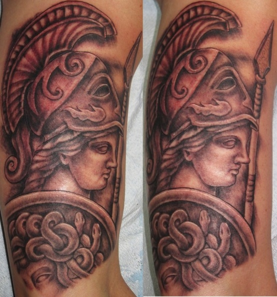 Grek Gods tattoos (34)