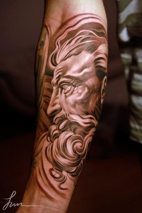 Grek Gods tattoos (32)