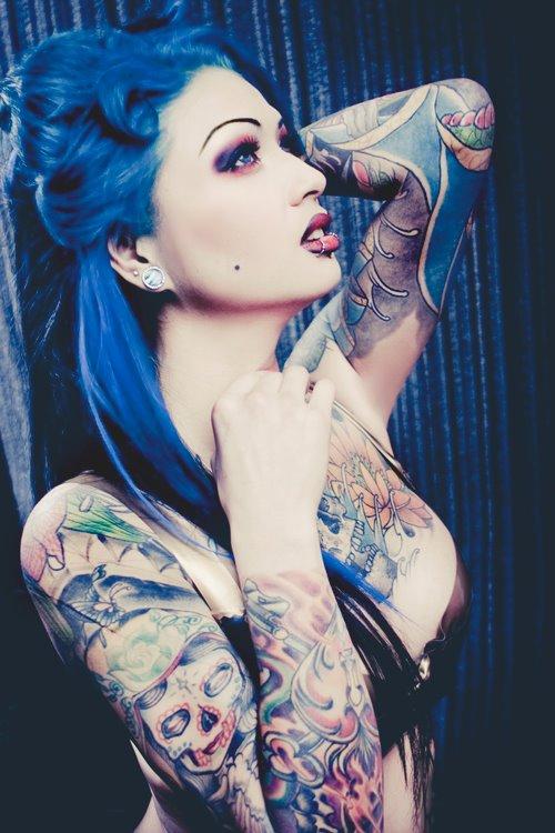 Tattooed Girls (50)