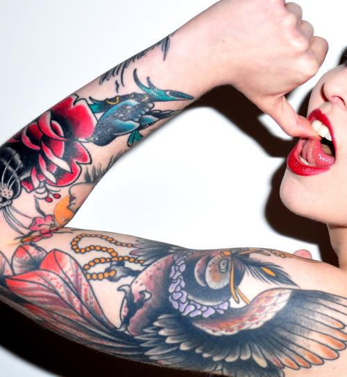 Tattooed Girls (46)
