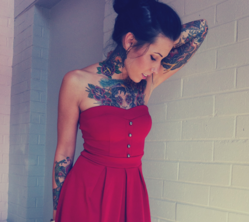 Tattooed Girls (35)