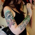 Mod Girls: 50 Lindas mulheres tatuadas