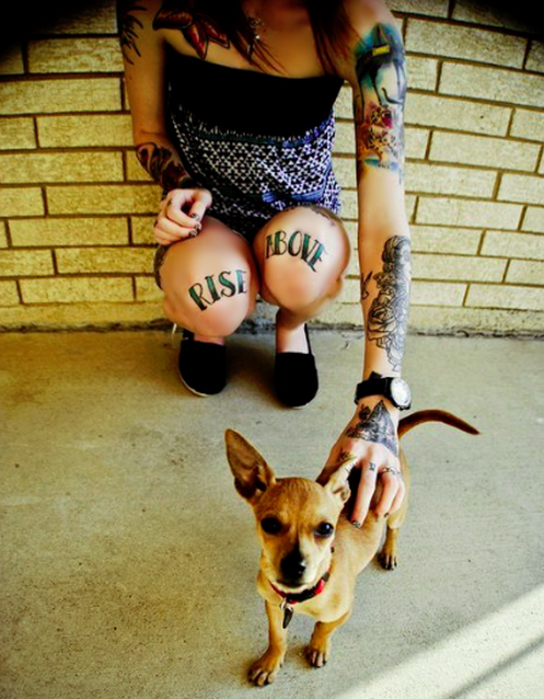 Tattooed People with Puppies (99)