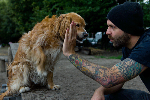 Tattooed People with Puppies (97)