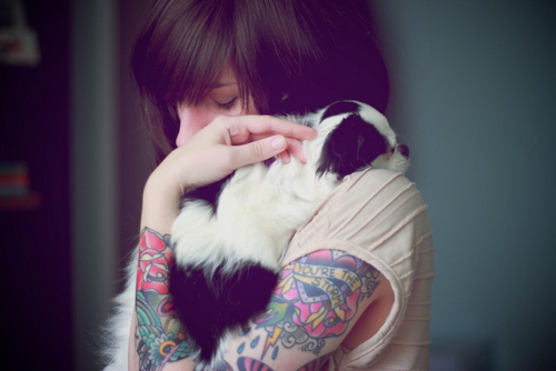 Tattooed People with Puppies (68)