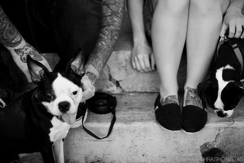 Tattooed People with Puppies (67)