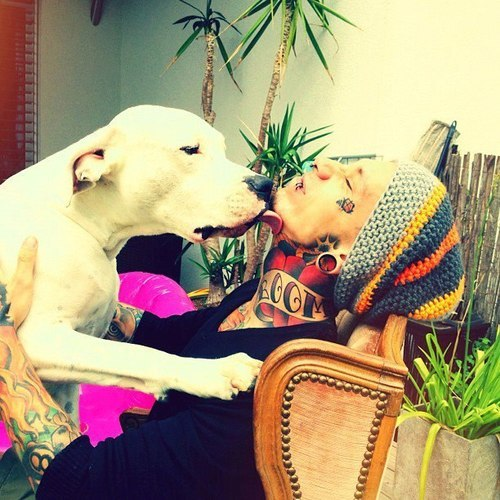 Tattooed People with Puppies (62)