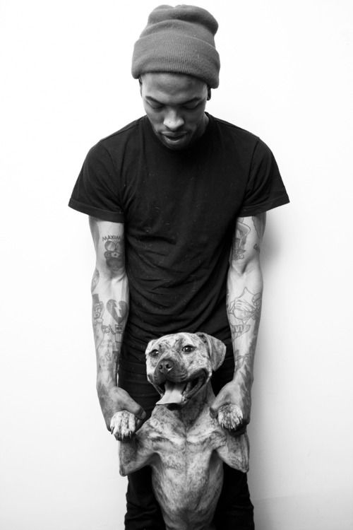 Tattooed People with Puppies (59)