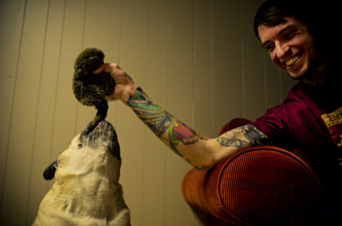 Tattooed People with Puppies (57)