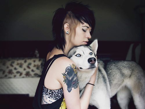 Tattooed People with Puppies (47)