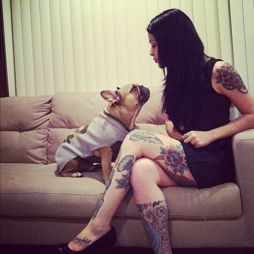 Tattooed People with Puppies (45)