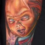 31 Tatuagens com o Chucky do Brinquedo Assassino