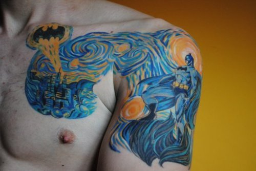 Batman Tattoos (60)