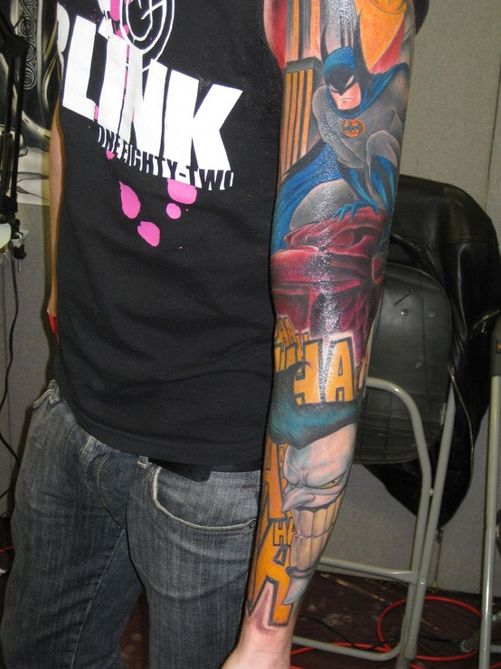 Batman Tattoos (1)
