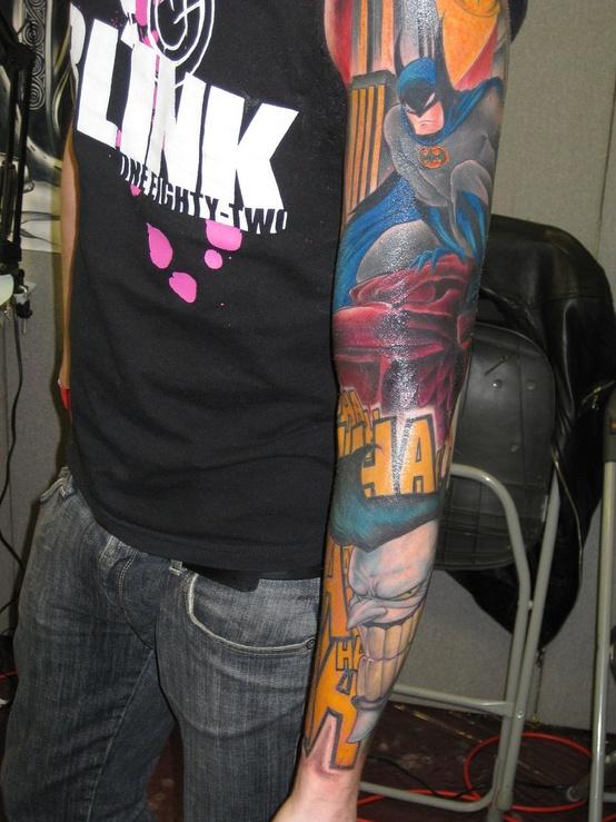 Batman Tattoos (1)