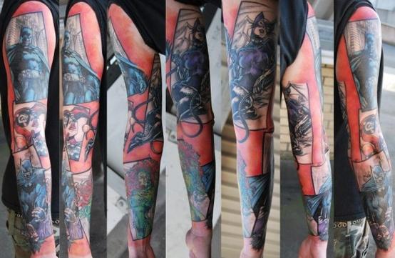 Batman Tattoos (34)
