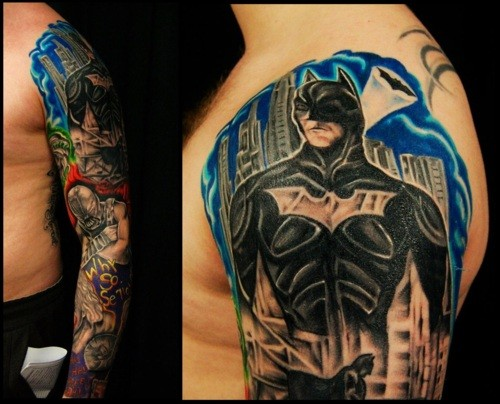 Batman Tattoos (31)