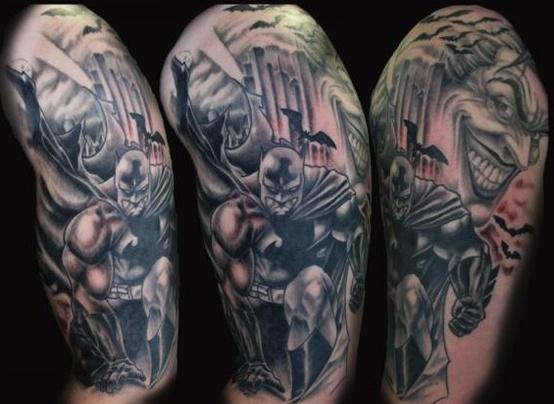 Batman Tattoos (23)
