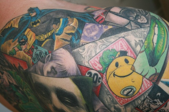Batman Tattoos (22)