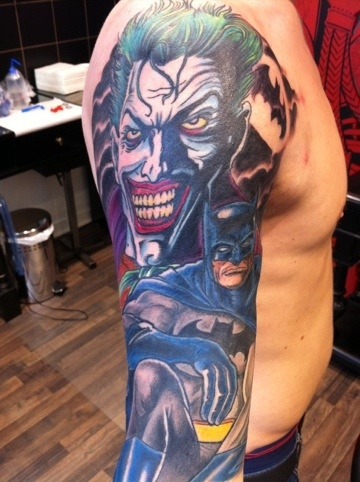 Batman Tattoos (21)