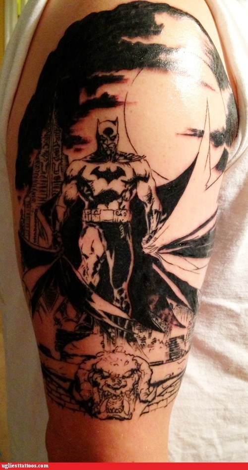 Batman Tattoos (20)
