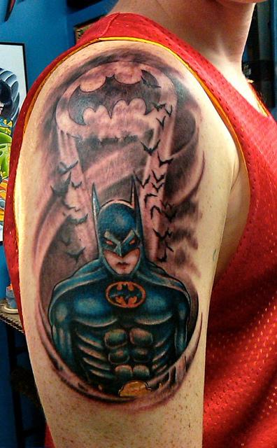 Batman Tattoos (15)