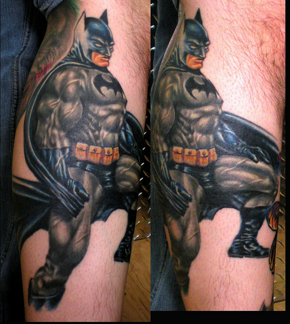 Batman Tattoos (9)