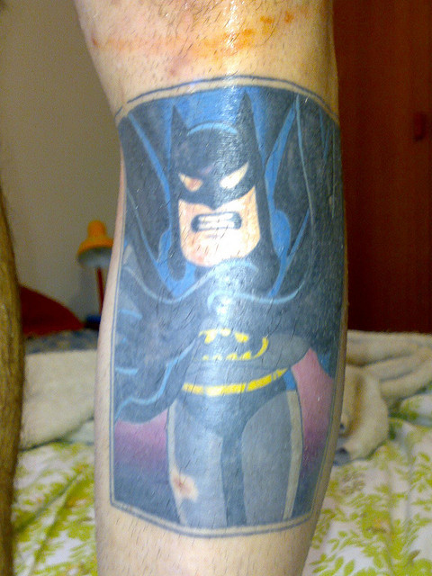 Batman Tattoos (8)