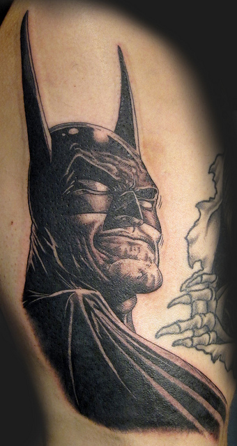 Batman Tattoos (6)