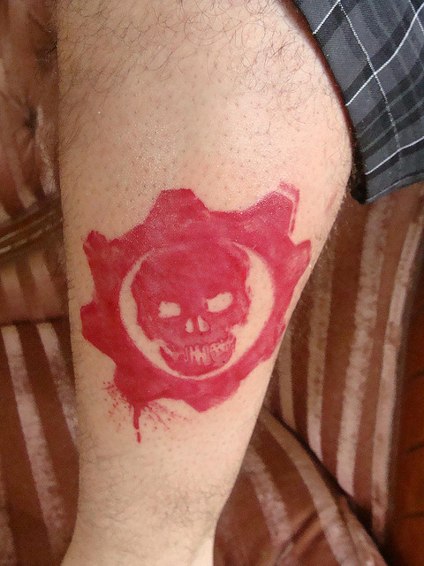 Gears Of War Tattoos (48)