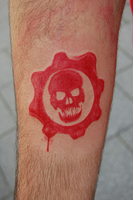 Gears Of War Tattoos (45)