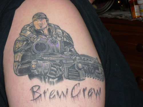 Gears Of War Tattoos (37)