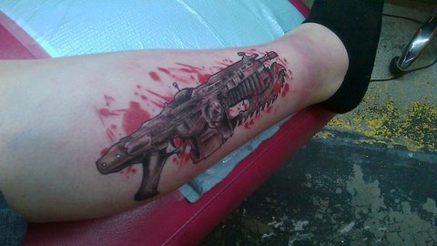 Gears Of War Tattoos (29)