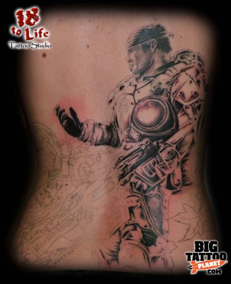 Gears Of War Tattoos (18)