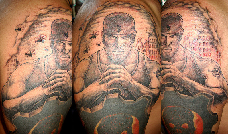 Gears Of War Tattoos (13)