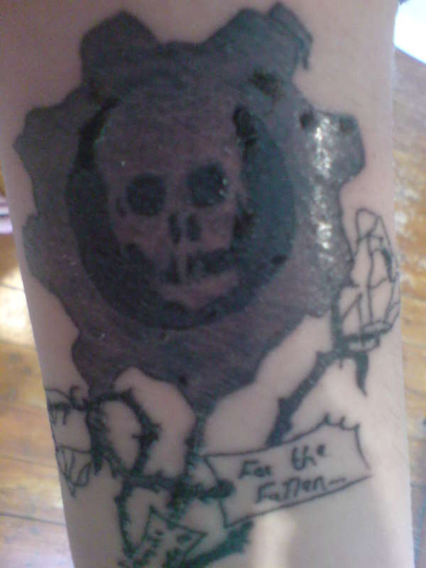 Gears Of War Tattoos (10)