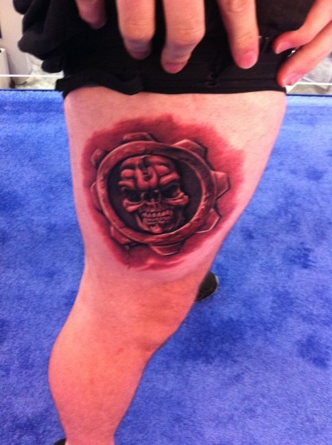 Gears Of War Tattoos (6)