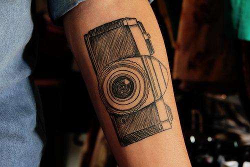 Camera tattoos (10)