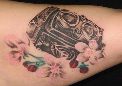 Camera tattoos (8)
