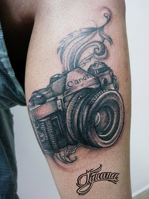 Camera tattoos (3)