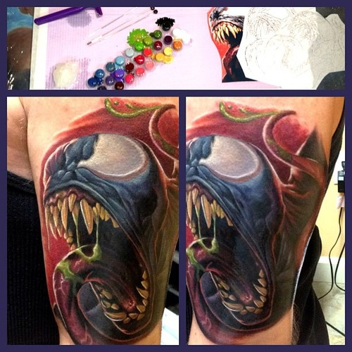 Venom Tattoos (49)