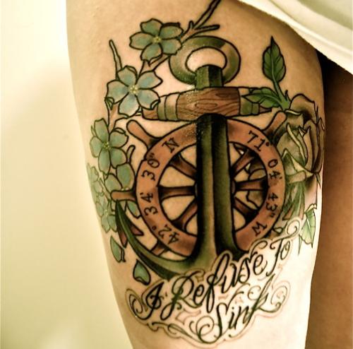 Significado da tatuagem de âncora (1)