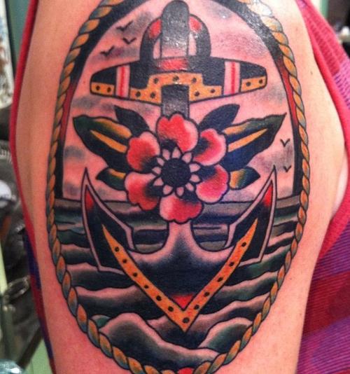 Significado da tatuagem de âncora (44)