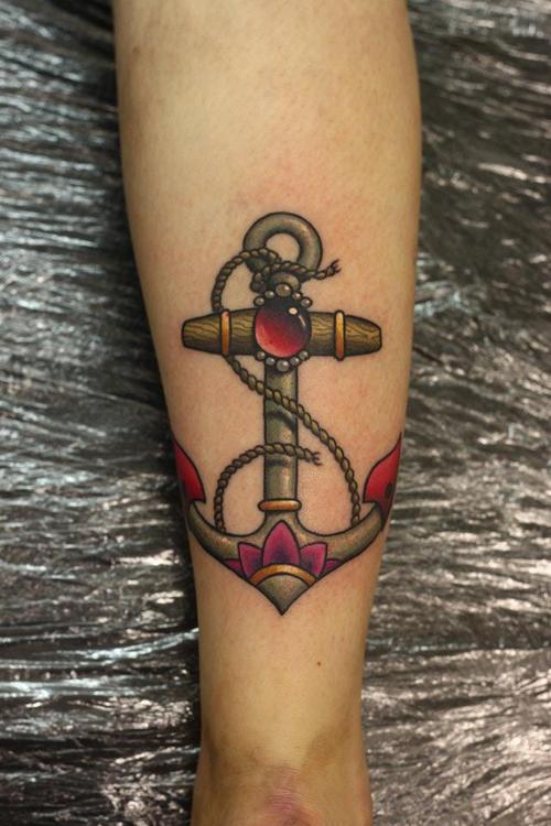 Significado da tatuagem de âncora (36)