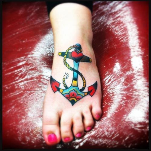 Significado da tatuagem de âncora (9)
