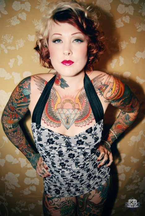 Fotos de Pin-Ups tatuadas (53)
