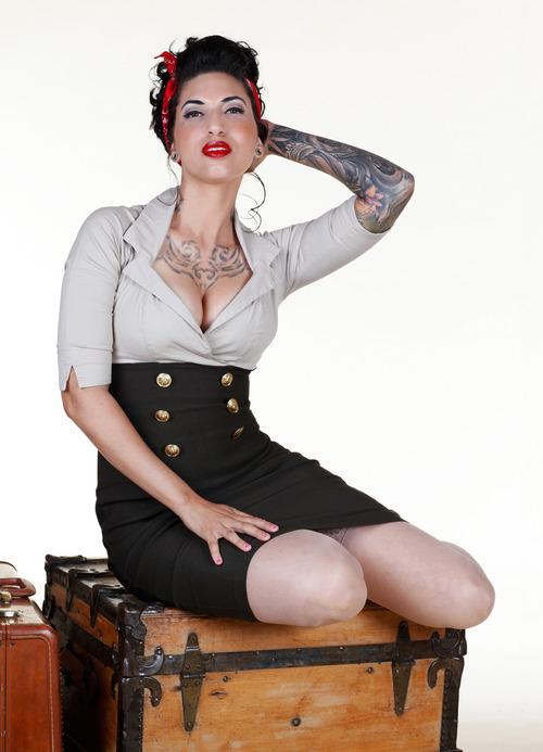 Fotos de Pin-Ups tatuadas (24)