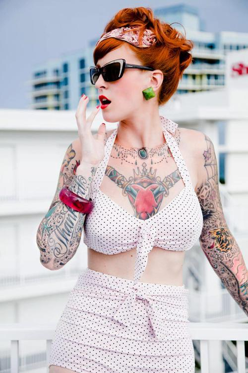 Fotos de Pin-Ups tatuadas (17)