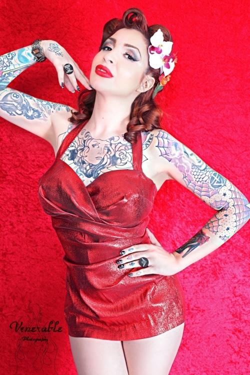 Fotos de Pin-Ups tatuadas (12)