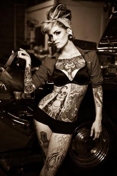 Fotos de Pin-Ups tatuadas (6)